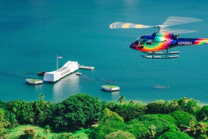 Oahu: 45-Minute Helicopter Tour with Doors On or Off