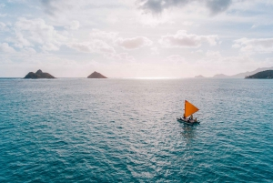 Oahu: Authentic Hawaiian Sailing Adventure to Mokuluas