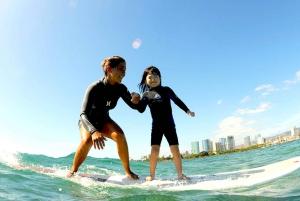 Oahu: Kids Surfing Lesson in Waikiki Beach