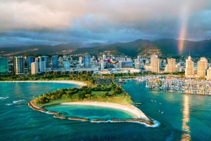 Oahu: Waikiki 20-Minute Doors On / Doors Off Helicopter Tour