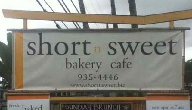 Short & Sweet Bakery & Cafe