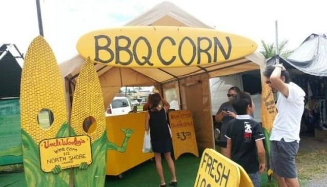 Uncle Woody's BBQ Corn
