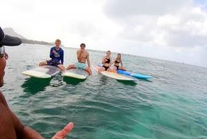 Waikiki: 1 Hour Small-Group Surf Lesson