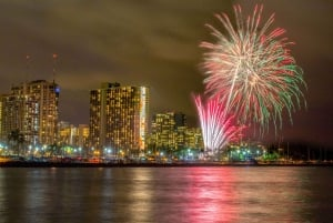 Waikiki: BYOB Friday Night Fireworks Cruise