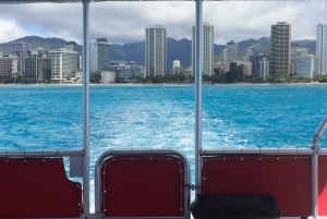 Waikiki Glass Bottom Boat Sunset Cruise from Honolulu