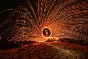 Waikiki: Honolulu Night Sky Photo and Light Painting Tour