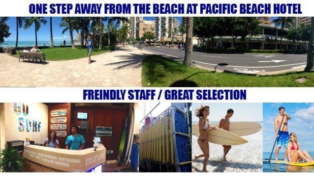 Waikiki Surfboard Rentals