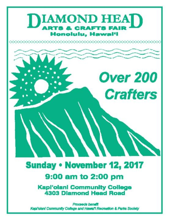 2017 Diamond Head Arts and Crafts Fair
