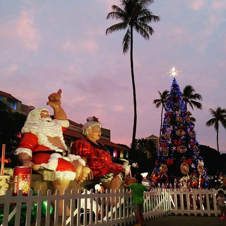 2017 Honolulu City Lights Opening Night & Parade