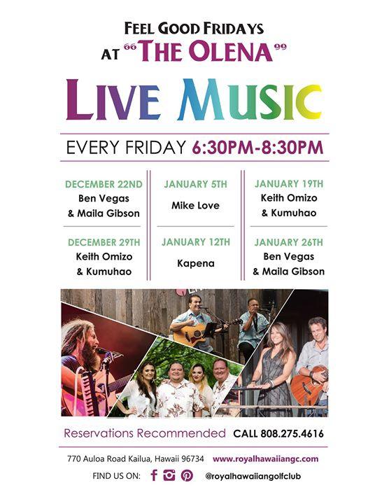 Friday Live Music