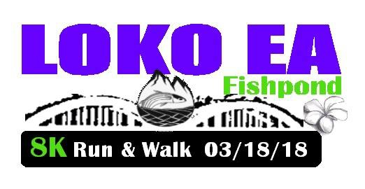 Loko Ea Fishpond 8K Run & Walk