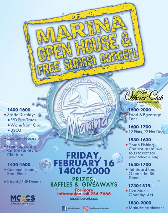 Marina Open House & Sunset Concert