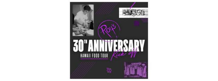 Roy's Hawaii 30th Anniversary | Hawaii Food Tour Kick Off