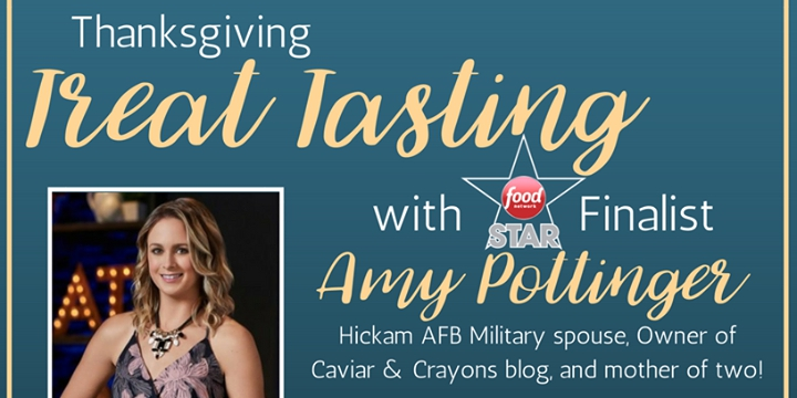 Thanksgiving Treat Tasting with Amy Pottinger