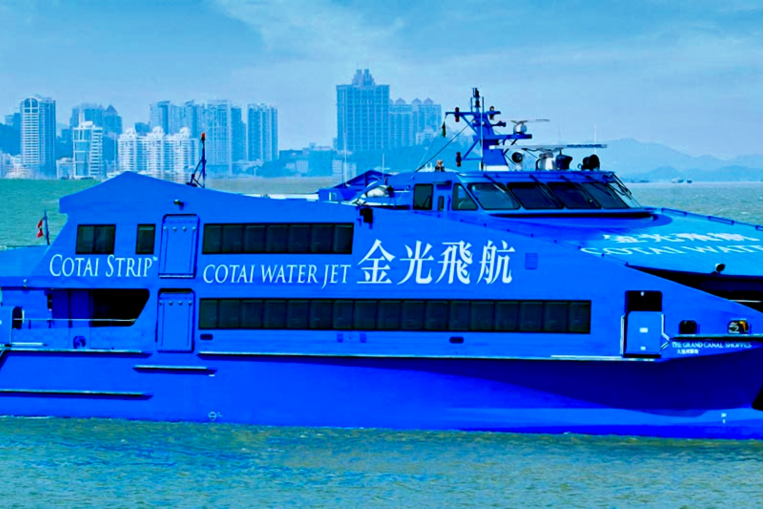 From Hong Kong to Macau Taipa: Cotai Water Jet Ticket