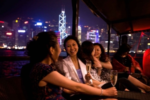 Hong Kong: Symphony of Lights Chinese Cruise Tour with Drink