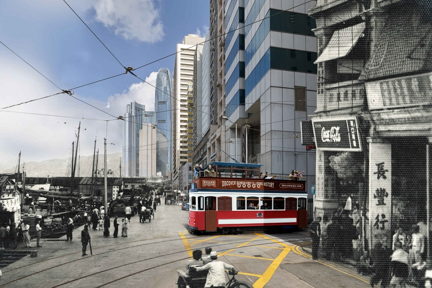 TramOramic Ding Ding Tour and Unlimited Hong Kong Tram Pass