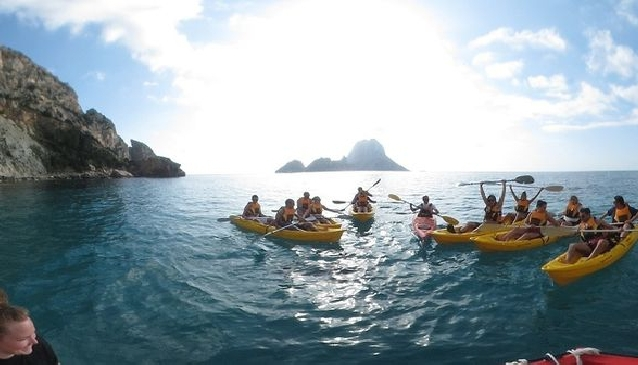 Kayaking in Ibiza