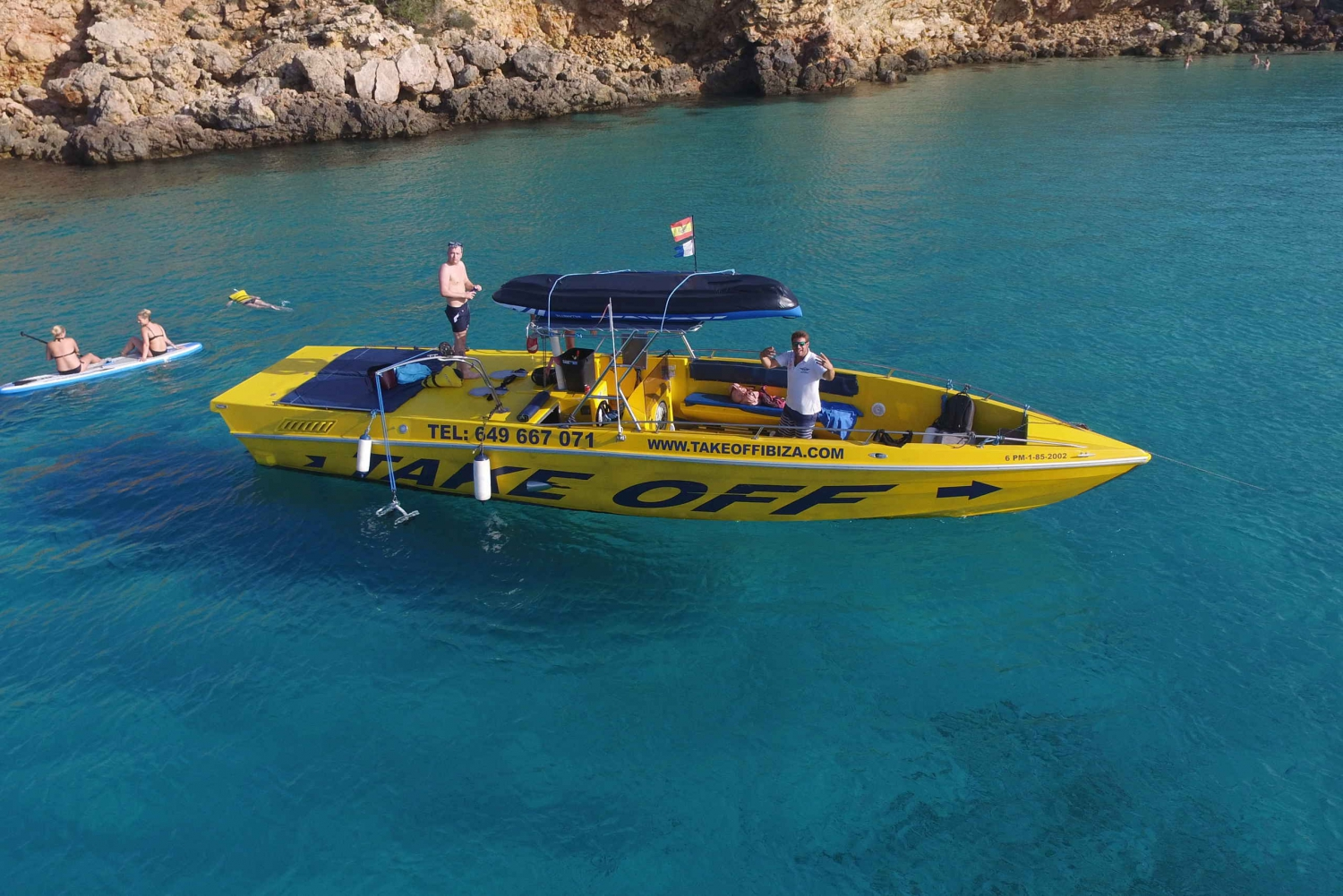 All Inclusive Luxury Boat and Cave Tour