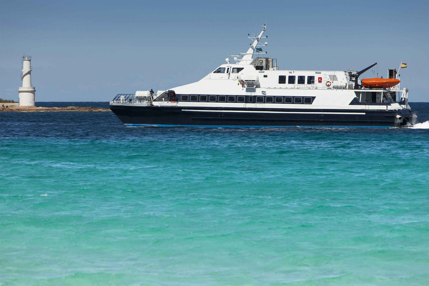 Formentera: Round-Trip Ferry Ticket from Ibiza