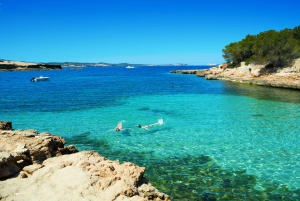 From Ibiza: Beach Hopping and Paddle Cruise with Drinks