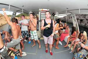 Ibiza: 2.5-Hour Private Sunset Boat Cruise for Large Groups