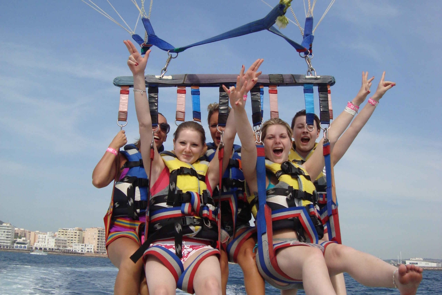 Ibiza 2-Hour Parasailing Adventure Tour