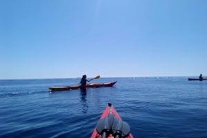 Ibiza: 3-Hour Cliff Kayaking Tour with Snorkeling