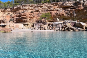 Ibiza: Snorkeling and SUP Paddle, Beach and Cave Cruise
