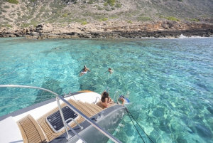 Luxury Catamaran Cruise to Formentera & S'Espalmador