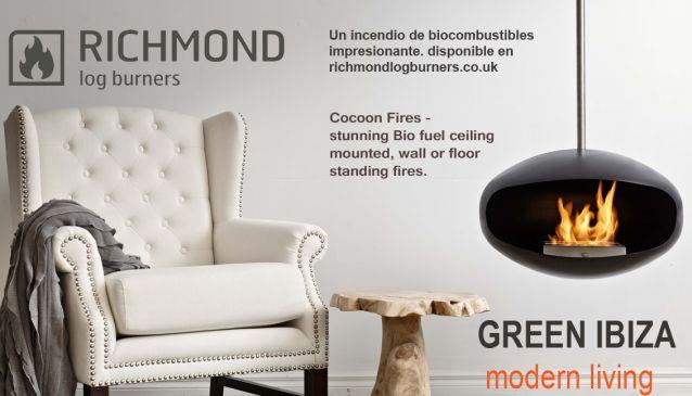 Richmond Log Burners in Ibiza