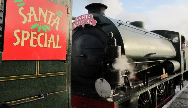Christmas at the Isle of Wight Steam Railway