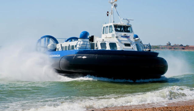 Hovertravel Hovercrafts - Isle of Wight Ferry