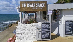 The Beach Shack, Steephill Cove