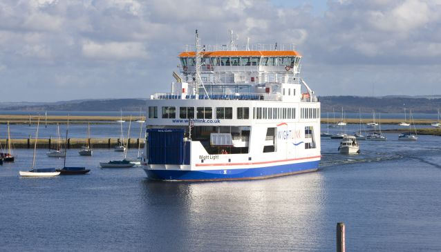 Wightlink Ferries - Isle of Wight Ferry