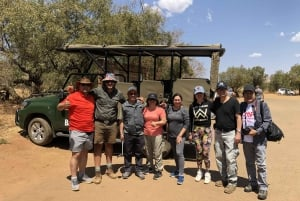 Johannesburg: Private Pilanesberg National Park Safari