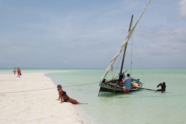 Mombasa: Malindi Marine Park & Sardegna 2 Island Excursion