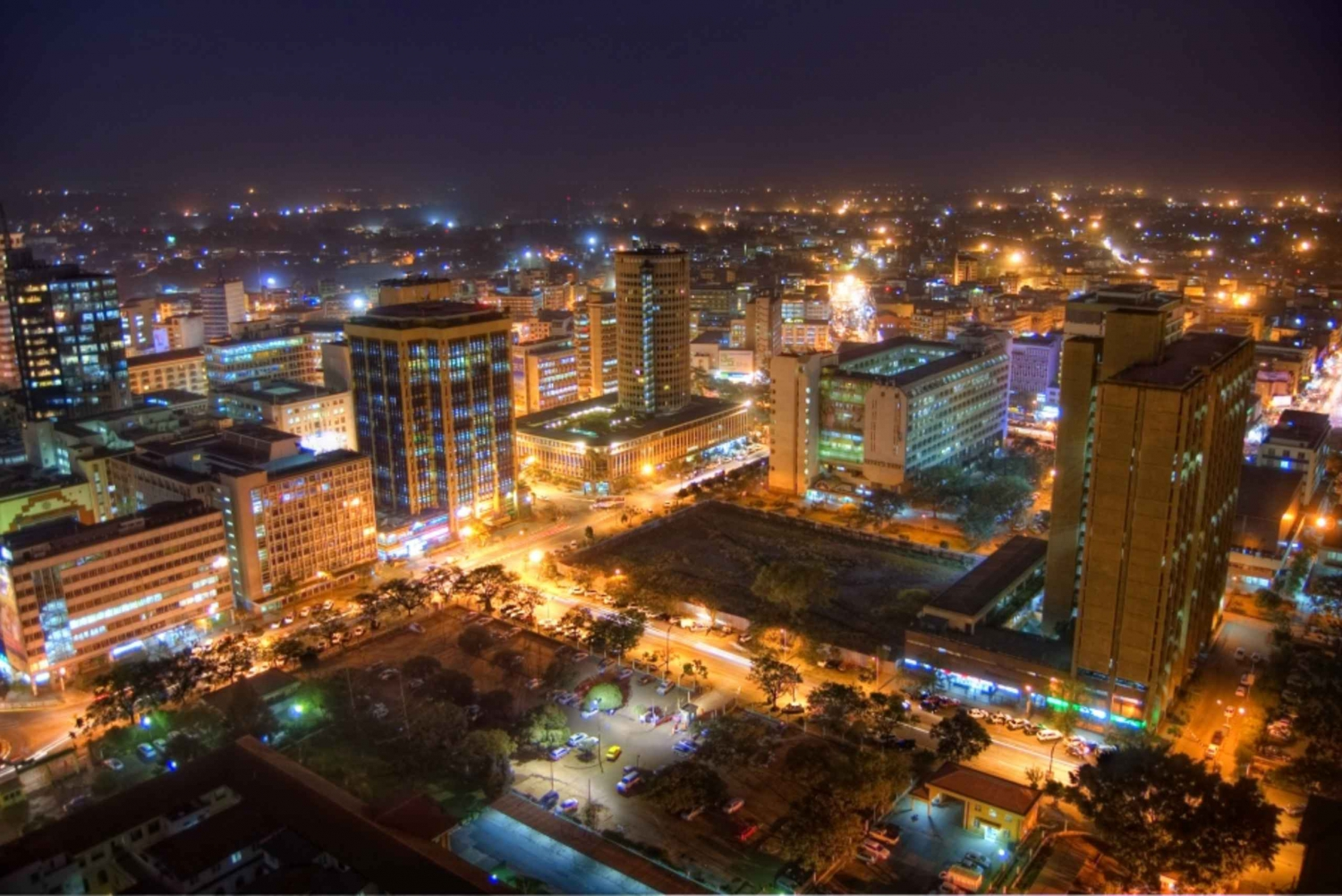 Nairobi by Night 3-Hour Food and Drinks Tour