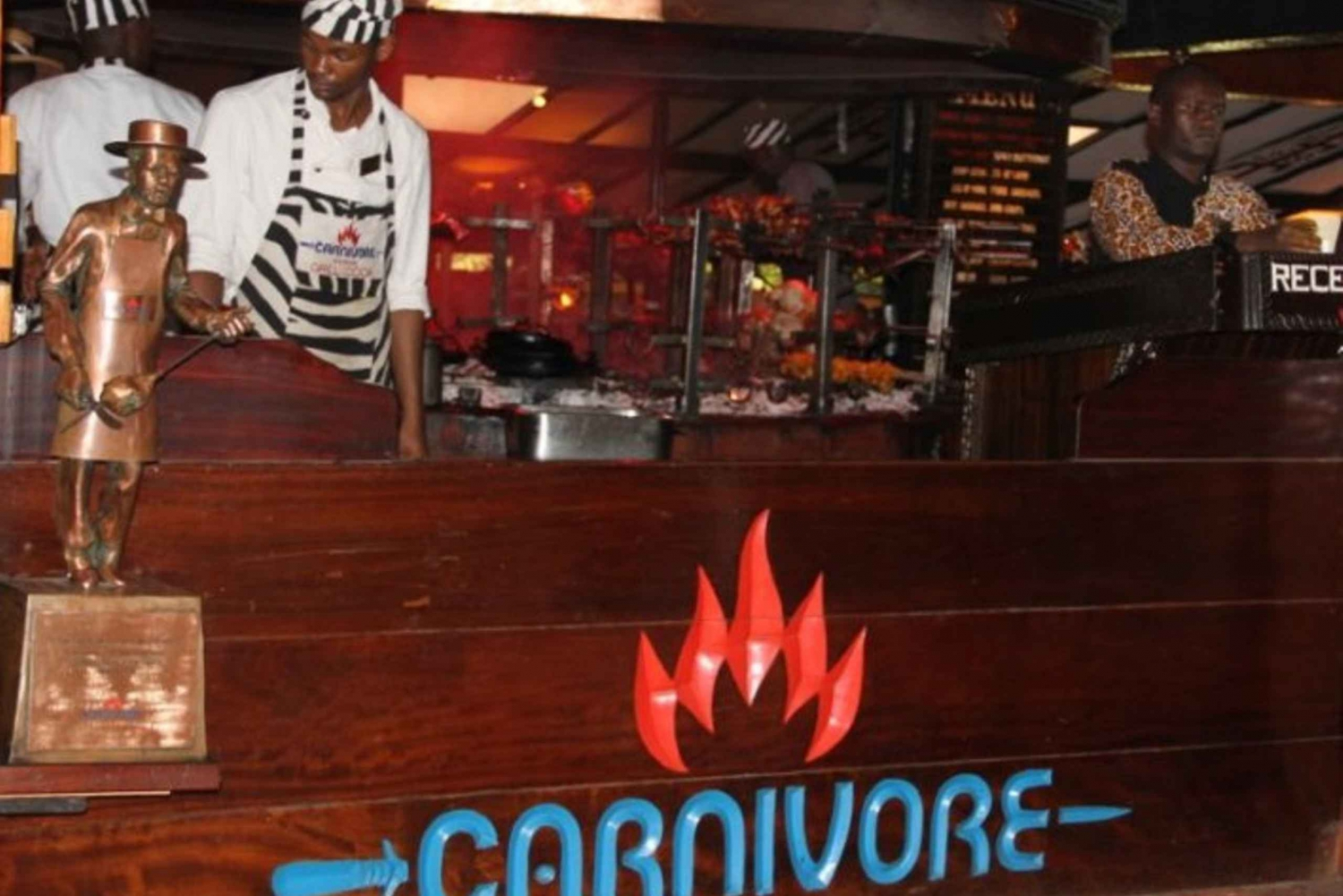 Nairobi: Lunch at Carnivore Experience