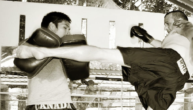 Muay Thai Training on Koh Samui