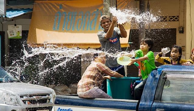 Songkran Festival Koh Samui