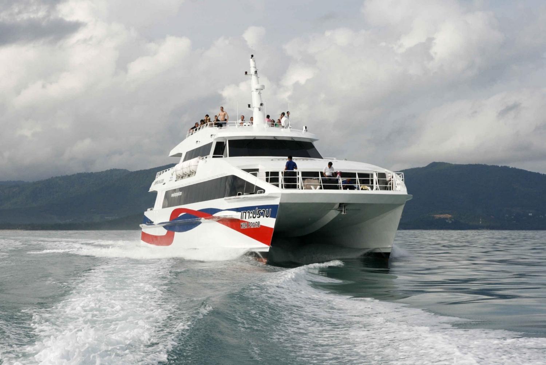 Boat Transfer to Phi Phi from Samui, Koh Phangan, Koh Tao