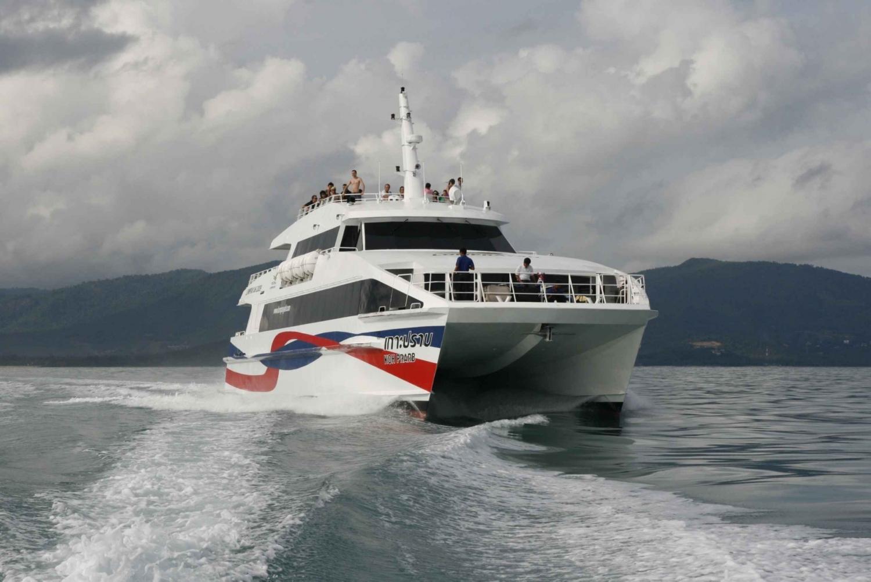 Boat Transfer to Phuket from Ko Samui, Ko Tao & Ko Pha Ngan