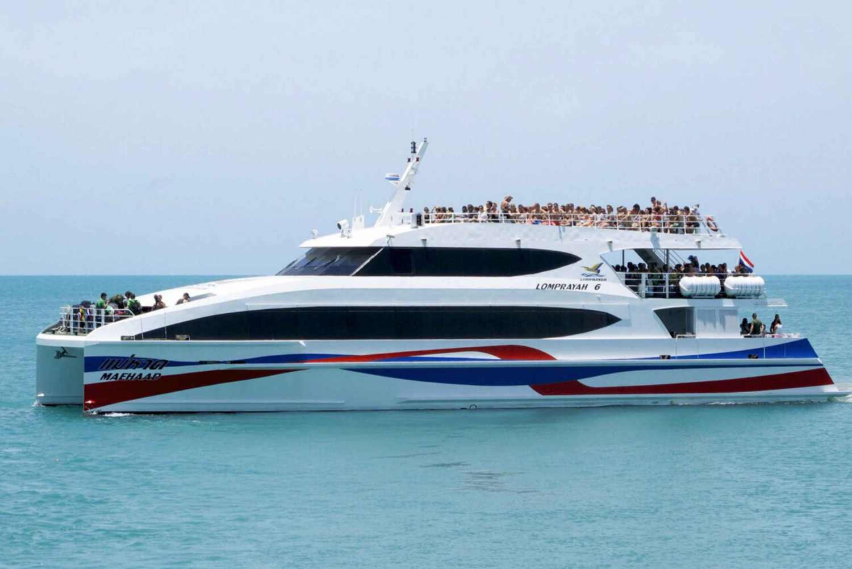 Boat Transfer to Suratthani From Koh Tao, Koh Phangan, Samui
