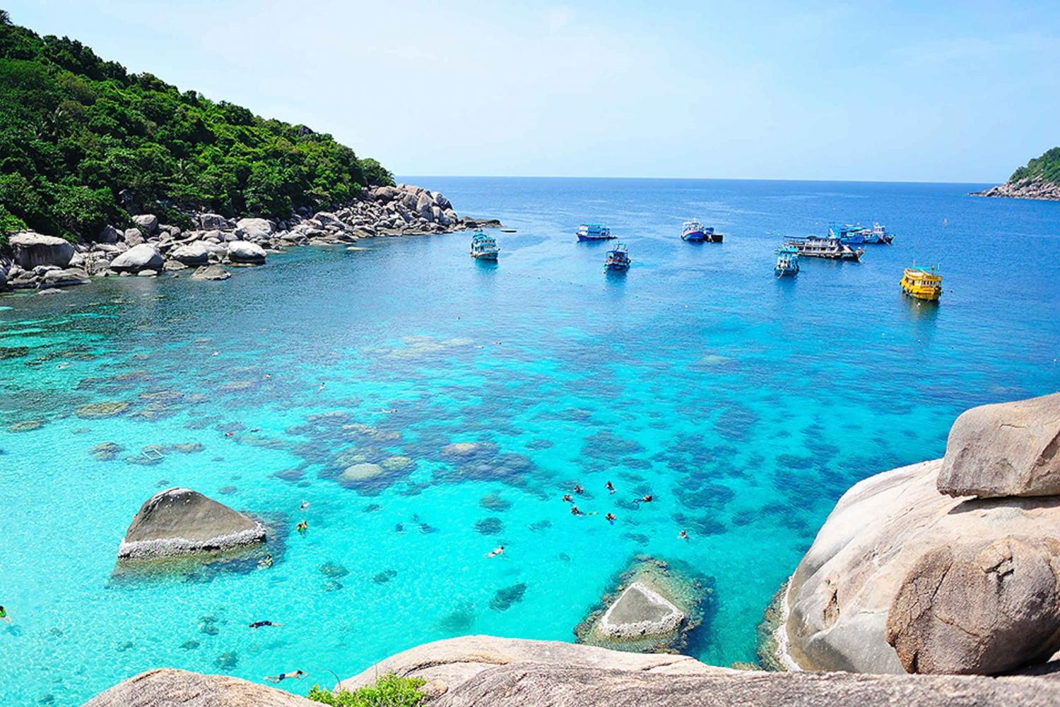 From Koh Tao & Koh Nangyuan Cruise and Snorkeling