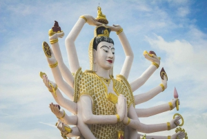 Koh Samui: Beach Yoga Class & Full-Day Sightseeing Tour