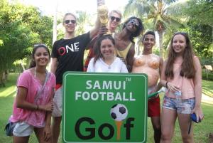 Koh Samui: Football Golf & Botanical Gardens