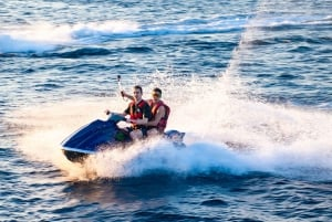Private Tour with Jet Skiing and Sunset Dinner