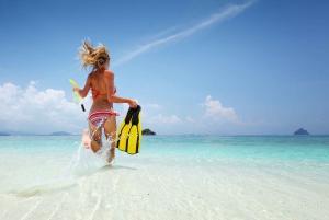 Snorkeling and Kayaking by Speedboat