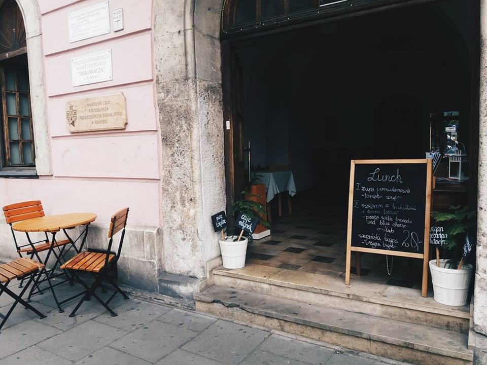 Gluten free resturants in Krakow